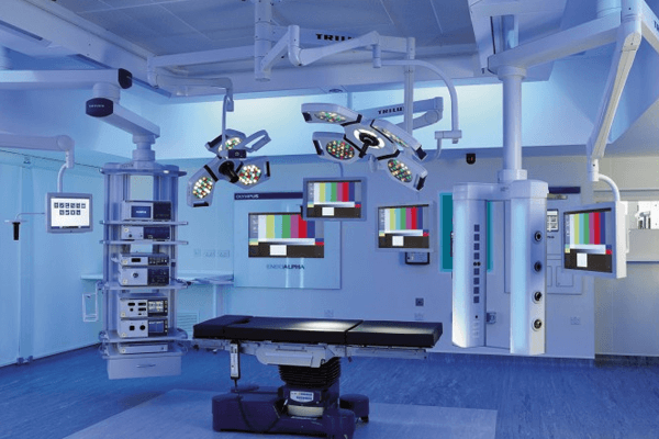 OPERATION THEATRES WITH ADVANCED TECHNOLOGICALLY EQUIPPED